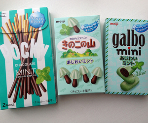 pocky, chocolate, and food image