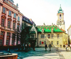 beauty, bratislava, and church image