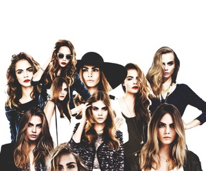 Collage, delevingne, and cara image
