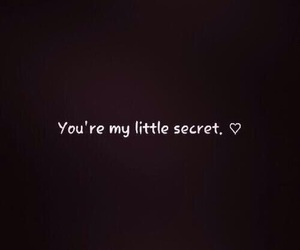 love, secret, and quotes image