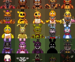 every body, fnaf, and fnaf3 image