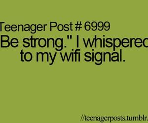 wifi, funny, and teenager post image