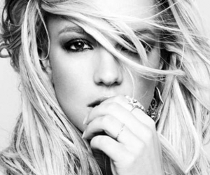 britney spears, britney, and black and white image