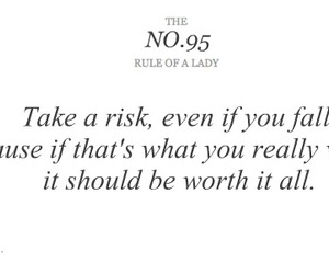 quote, life, and risk image