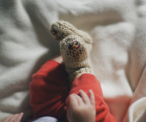 baby, kids, and socks image