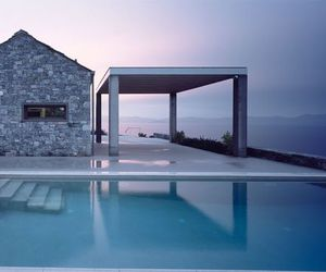 Greece, house, and ocean image
