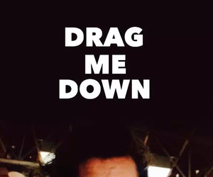 smile, drag me down, and Harry Styles image