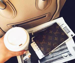 coffee, celine, and fashion image