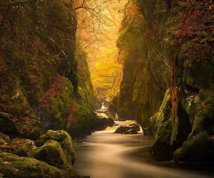 nature, river, and landscape image