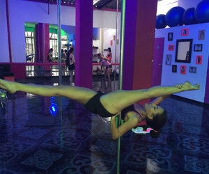 poledance, polefit, and poleart image