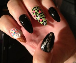 nails, demi lovato, and demi image