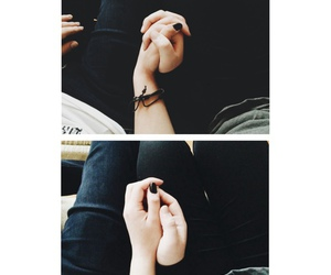 grunge, photography, and hands image
