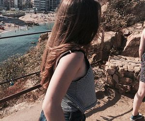 blanes, summer, and girl image