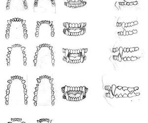art and teeth image