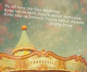 carousel and Jeremy Irons image
