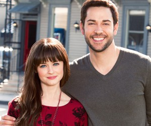 alexis bledel and zachary levi image