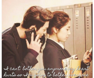 korean, quotes, and park shin hye image
