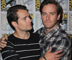 the man from uncle, Henry Cavill, and armie hammer image