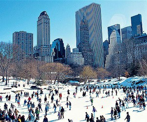 new, newyork, and winter image