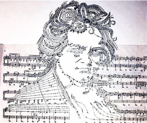 art, Beethoven, and classical image