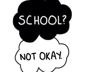 school, okay, and not okay image