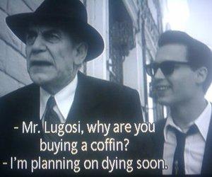 Bela Lugosi and ed wood image