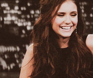 Nina Dobrev and smile image