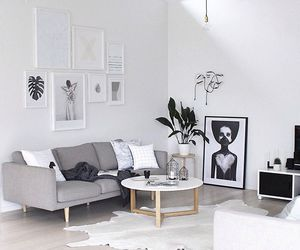 living room, decor, and home image