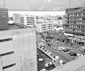 africa, b&w, and gabon image