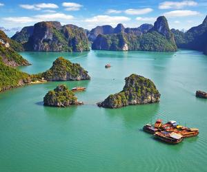 Vietnam and ha long bay image