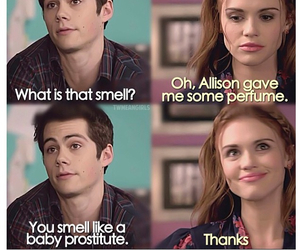 teen wolf, stydia, and funny image