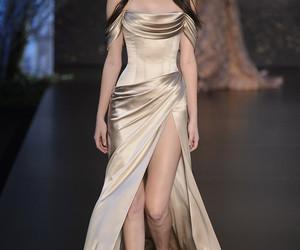 bridal, catwalk, and fashion image