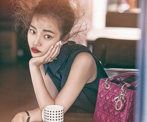 bun, coffee shop, and crazy hair image
