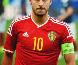 belgium, football, and eden hazard image
