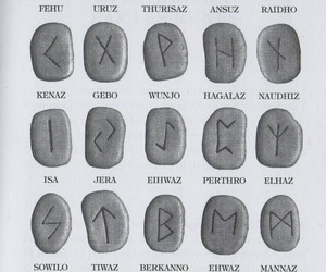 wicca and runes image