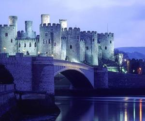 castle, wales, and conwy image