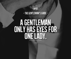 gentleman, lady, and quotes image