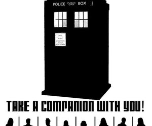 companion, doctor who, and rose tyler image