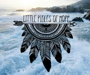 hope, sea, and quotes image