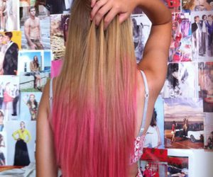 awesome, back, and dip dye image