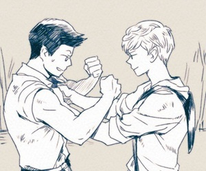 fanart, the maze runner, and minewt image