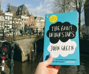 book, amsterdam, and john green image