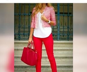 bag, blazer, and blogger image