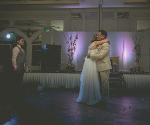 bride, weddings, and father daughter dance image