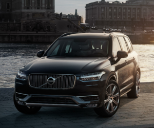 SUV and volvo image