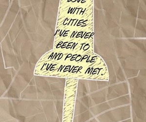 quotes, paper towns, and john green image