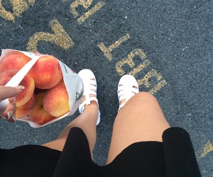 peaches and white image