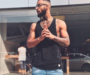 black man, casual, and african american man image