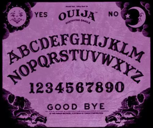 ouija and purple image