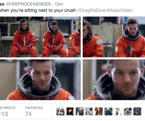 crush, larry, and louis tomlinson image